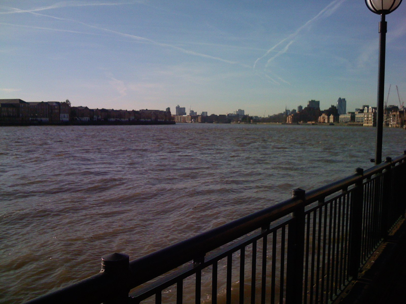 Thames from thames Path