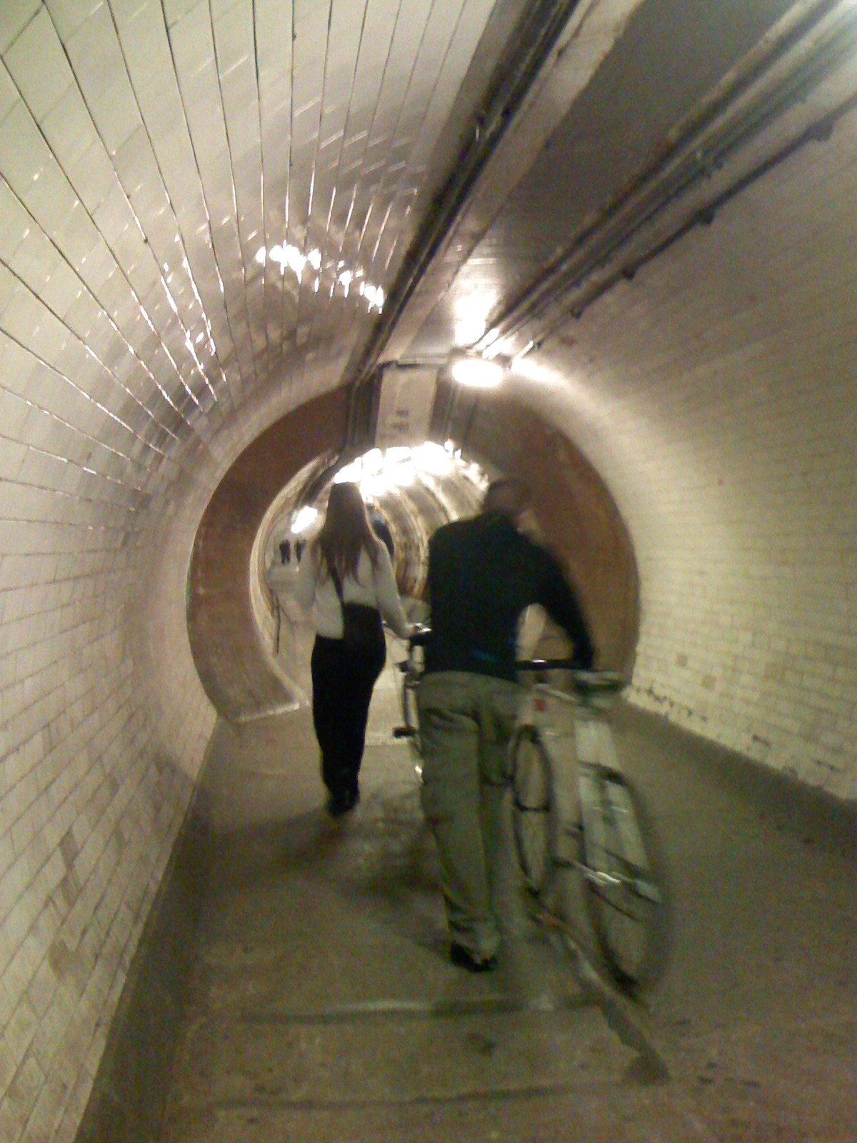 Greenwhich foot Tunnel inside